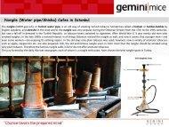 Waterpipe Cafes