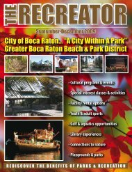 "City of Boca Raton... ""A City Within A Park"" Greater Boca Raton ..."