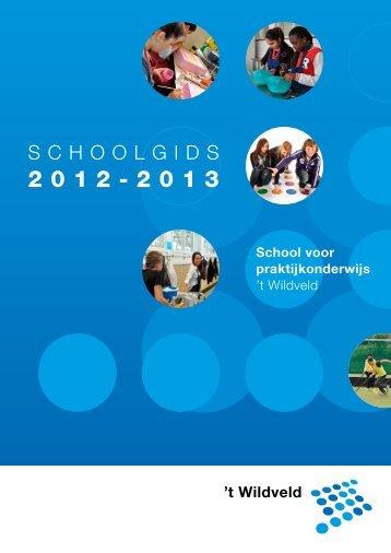 t Wildveld - Stichting Speciaal Onderwijs Noord