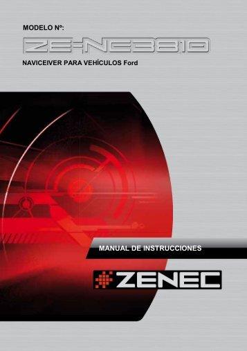 MANUAL DE INSTRUCCIONES - Zenec