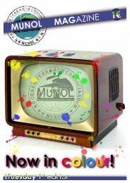 Issue 1 - Tuesday - munol