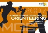 moc orienteering - Scuola