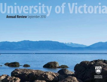 Annual Review September 2010 - University of Victoria