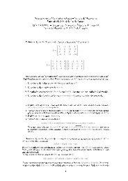 Gabarito da primeira prova - Laboratório de Matemática Aplicada