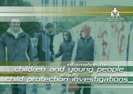 Child Protection Investigations Booklet