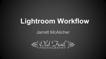 LR-Workflow