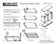 Kit MW Wall (Read-Only) - Euro-Rite Cabinets
