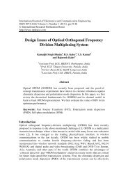 Design Issues of Optical Orthogonal Frequency Division ...