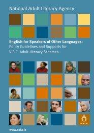 ESOL Body Final - National Adult Literacy Agency