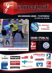 10.12.2011 - TV Bittenfeld - HSG Nordhorn-Lingen