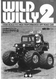 Tamiya Wild Willy 2 WR-02 Manual - Wheelsacademy.info