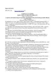 Uchwała Nr 432/II/01 Rady Gminy Warszawa-Bielany z dnia 19 ...