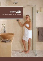 wet room showers for all lifestyles - Heat and Plumb