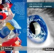 Profil international - Collège Jean-de-Brébeuf