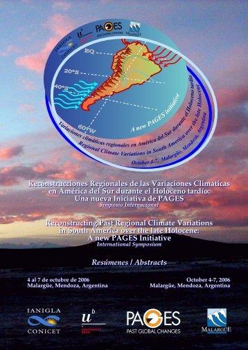 Reconstrucciones Regionales de las Variaciones Climáticas en ...