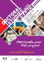 FRANCE STUDIES DOCTORAL