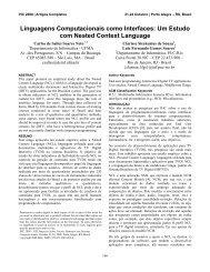 Linguagens Computacionais como Interfaces: Um Estudo com ...