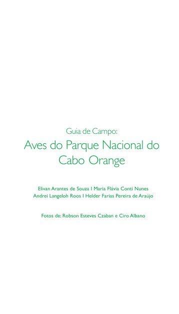 Aves do Parque Nacional do Cabo Orange - Sociedade Brasileira ...