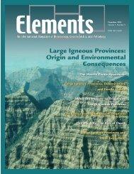 Front Matter (PDF) - Elements - GeoScienceWorld