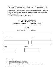 General Mathematics - Practice Paper D.pdf - All Saints Secondary ...