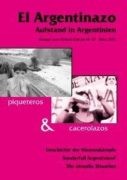 El Argentinazo - Aufstand in Argentinien - Wildcat