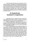 El Argentinazo - Aufstand in Argentinien - Wildcat - Seite 3