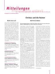 Mitteilungen November - Anthroposophische Gesellschaft in ...
