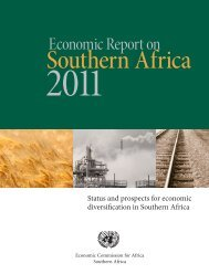 Economic Report on Southern Africa 2011 - United Nations ...