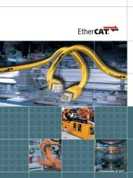 The EtherCAT Technology Group members at a glance