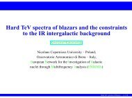 Hard TeV spectra of blazars and the constraints to the IR ...