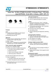 Technical Data Sheet - STMicroelectronics