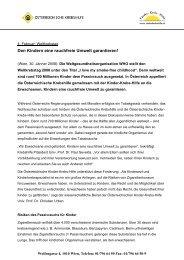 GENETISCHE FAKTOREN - Österreichische Kinder-Krebs-Hilfe