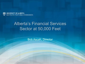 ATB Financial - Institute for Public Economics