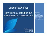 Bronx Town Hall - Sustainable NYCT