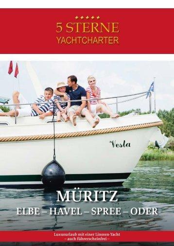 MÜRITZ - 5 Sterne Yachtcharter