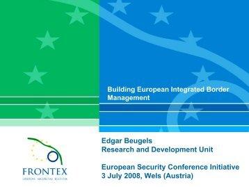 Presentation - European Security Conference Initiative