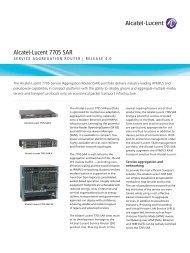 Alcatel-Lucent 7750 SR - Adventus