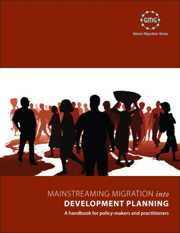 Mainstreaming Migration into Development Planning: A handbook for