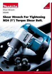 Shear Wrench For Tightening M24 (1