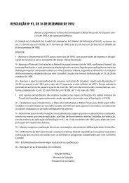 Resolução Nº 91, de 16/12/1992 - Ministério do Trabalho e Emprego
