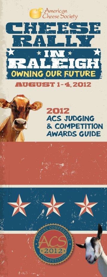 2012 Winners - American Cheese Society