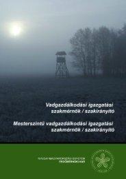jelentkezési lap - Vadgazdálkodási és Gerinces Állattani Intézet ...