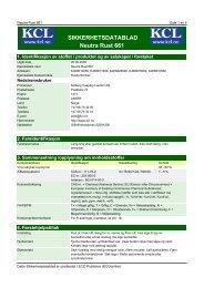 SIKKERHETSDATABLAD Neutra Rust 661 - Kolberg Caspary ...