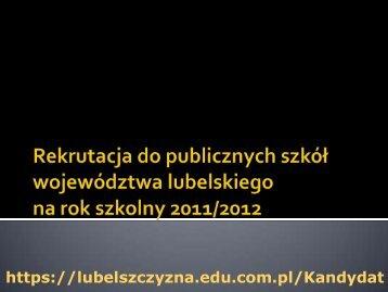 6 VII 2011 r. od godz. 14. 00 - Gimnazjum nr 18 w Lublinie