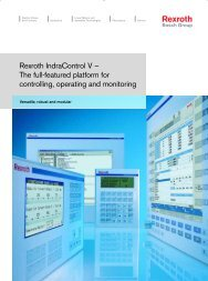 Rexroth IndraControl V – The full-featured platform for ... - Coeva