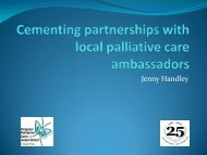 Cementing partnerships with