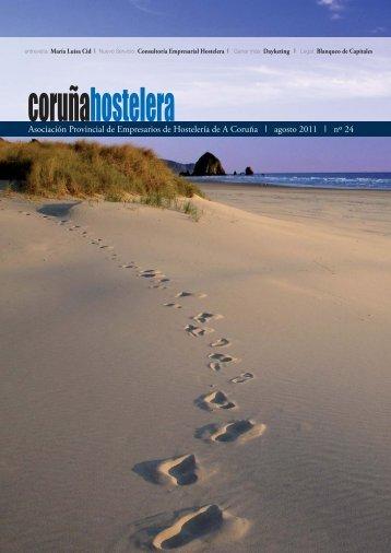 Revista Agosto 2011 Nº 24 - Asociación de Hostelería de A Coruña