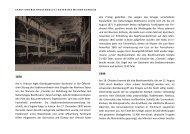 Chronik zum Wiederaufbau der Stadt und der Beethovenhalle