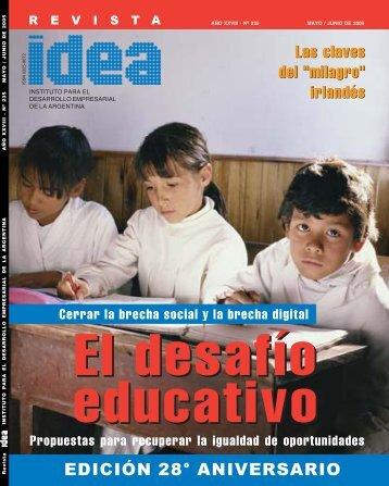 El desafío educativo - Diseño Gráfico Ribeiro