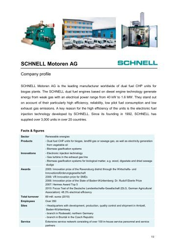 SCHNELL company profile_brief_20111111 - Schnell Motoren AG